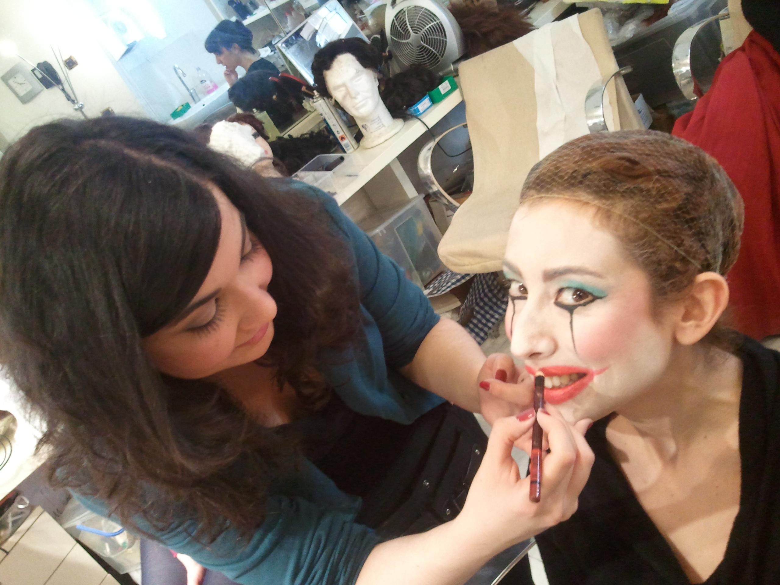 Backstage Otello Trucco Artimmagine Napoli