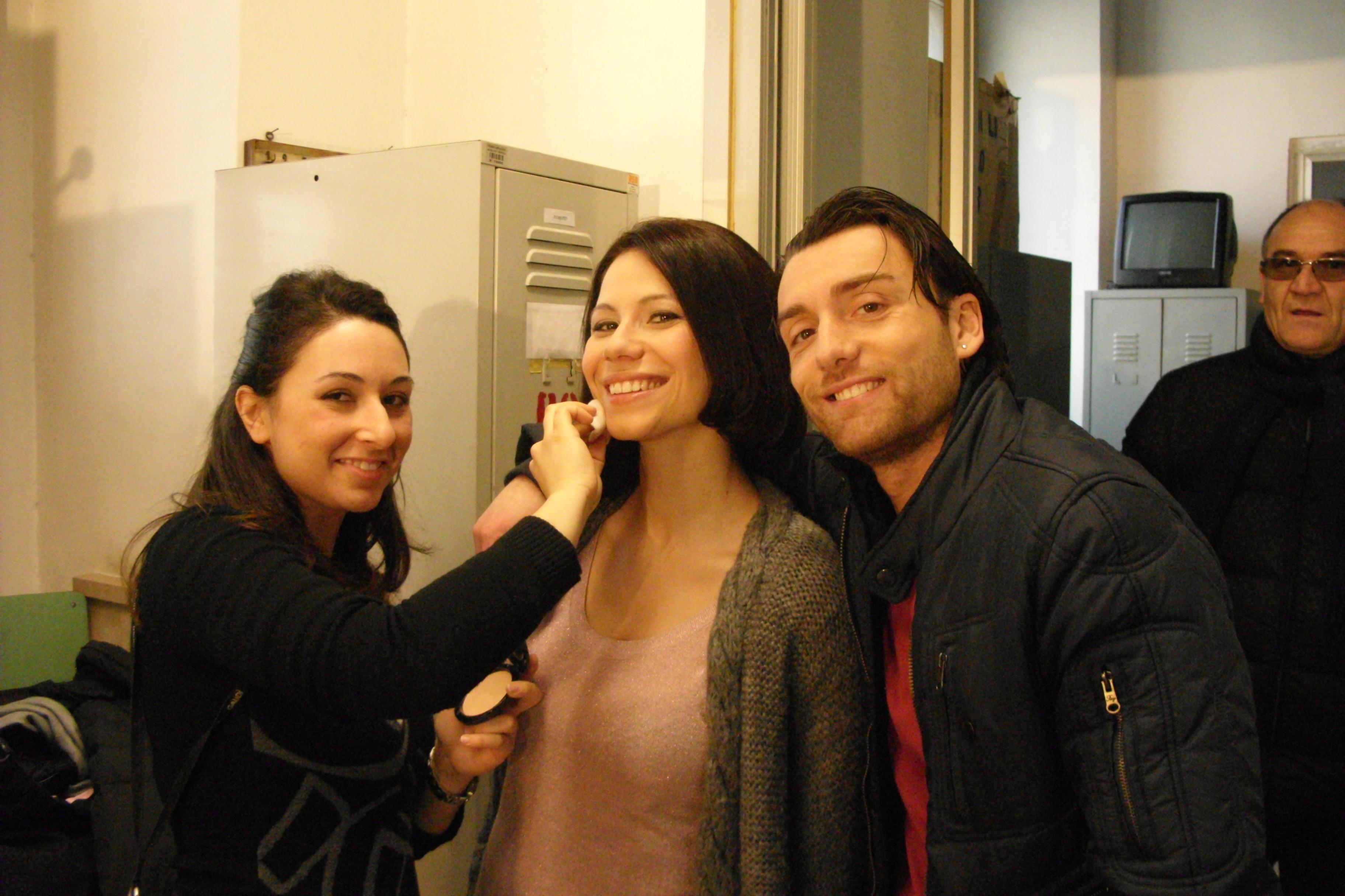 Backstage riprese Ciro Esposito -Make up_Artimmagine