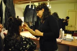 Backstage trucco teatrale - make up artist