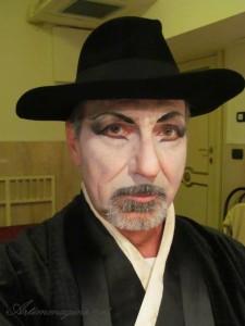 Butterfly - trucco teatrale maschera uomo - Artimmagine Napoli