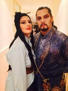 Turandot - Trucco e parrucche Teatrali Artimmagine Napoli