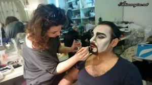 Turandot trucco teatrale Artimmagine